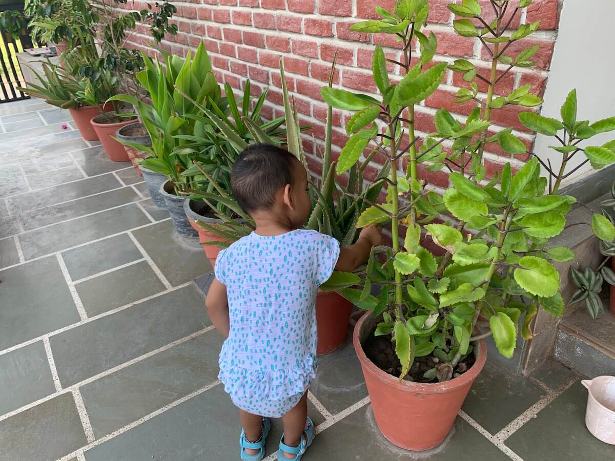 Children are naturally curious and aware of their surroundings