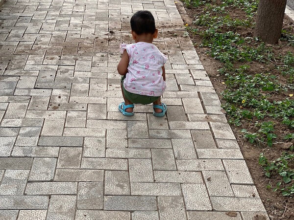 What I learned from my child, take it slow